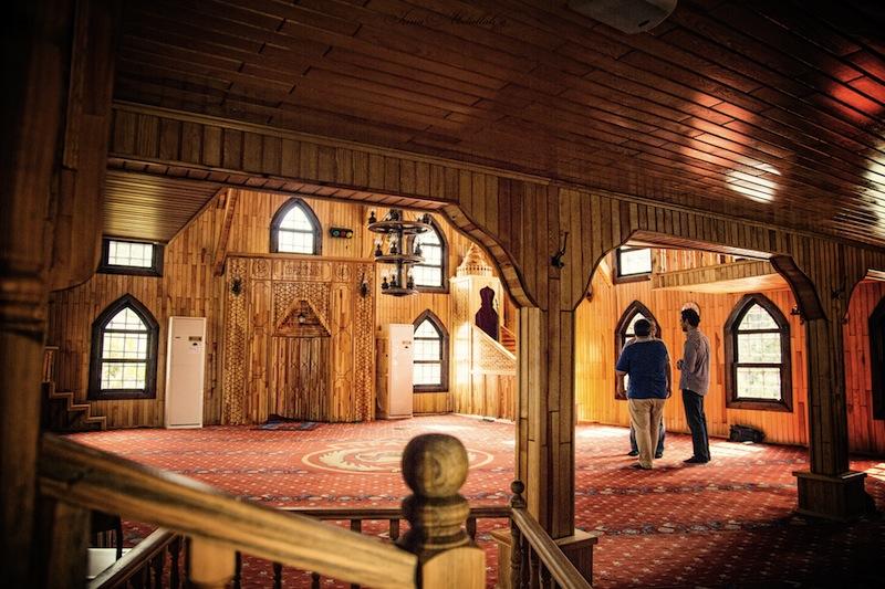 Мечеть в пожарной Фатиха