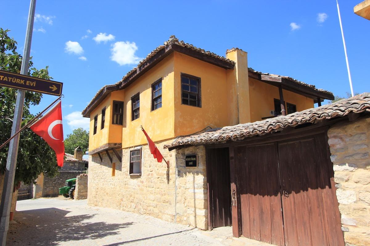 Дом Ататюрка в Бигалы