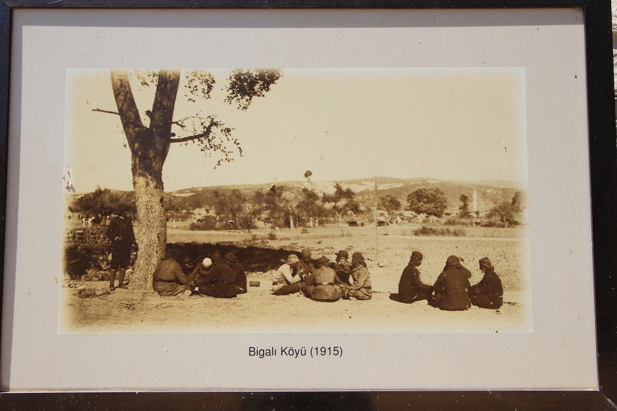 Деревня Бигалы в 1915 году