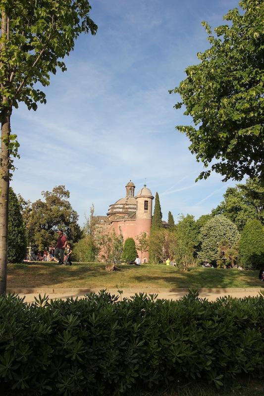 Часовня в парке Цитадели
