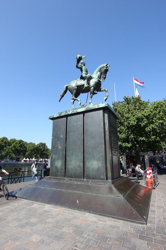 Конная статуя короля Виллема II