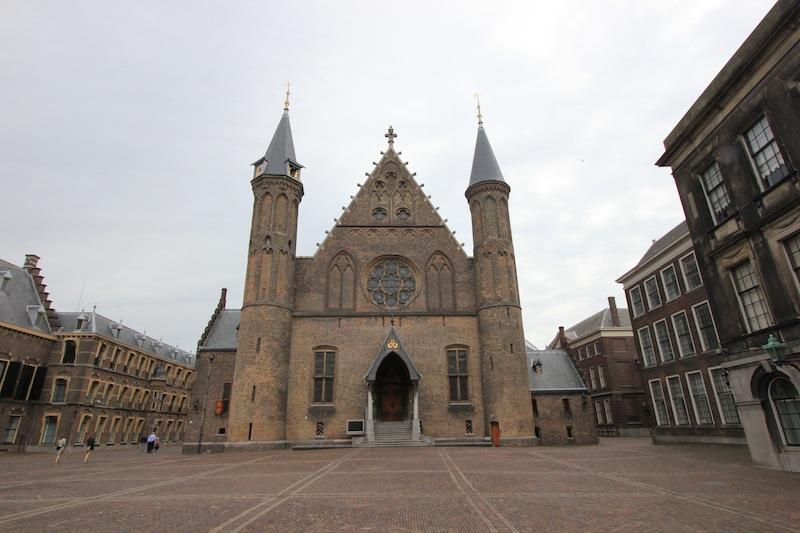 Фасад замка Риддерзаал