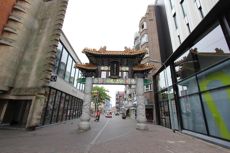Китайская арка на улице Вагенстрат