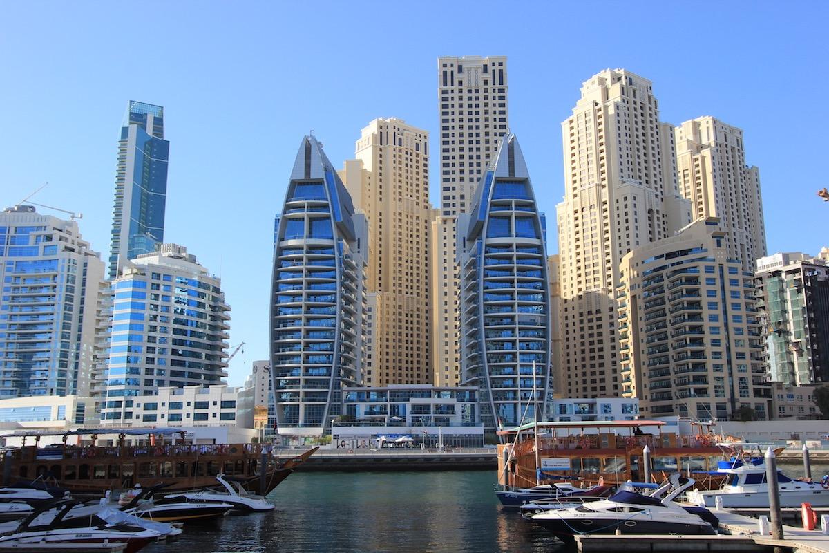 Небоскребы Marina Promenade