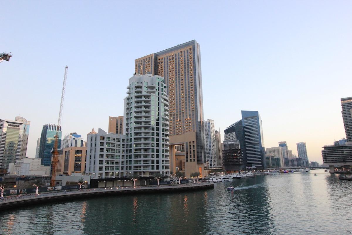 Магриб в Дубай Марина