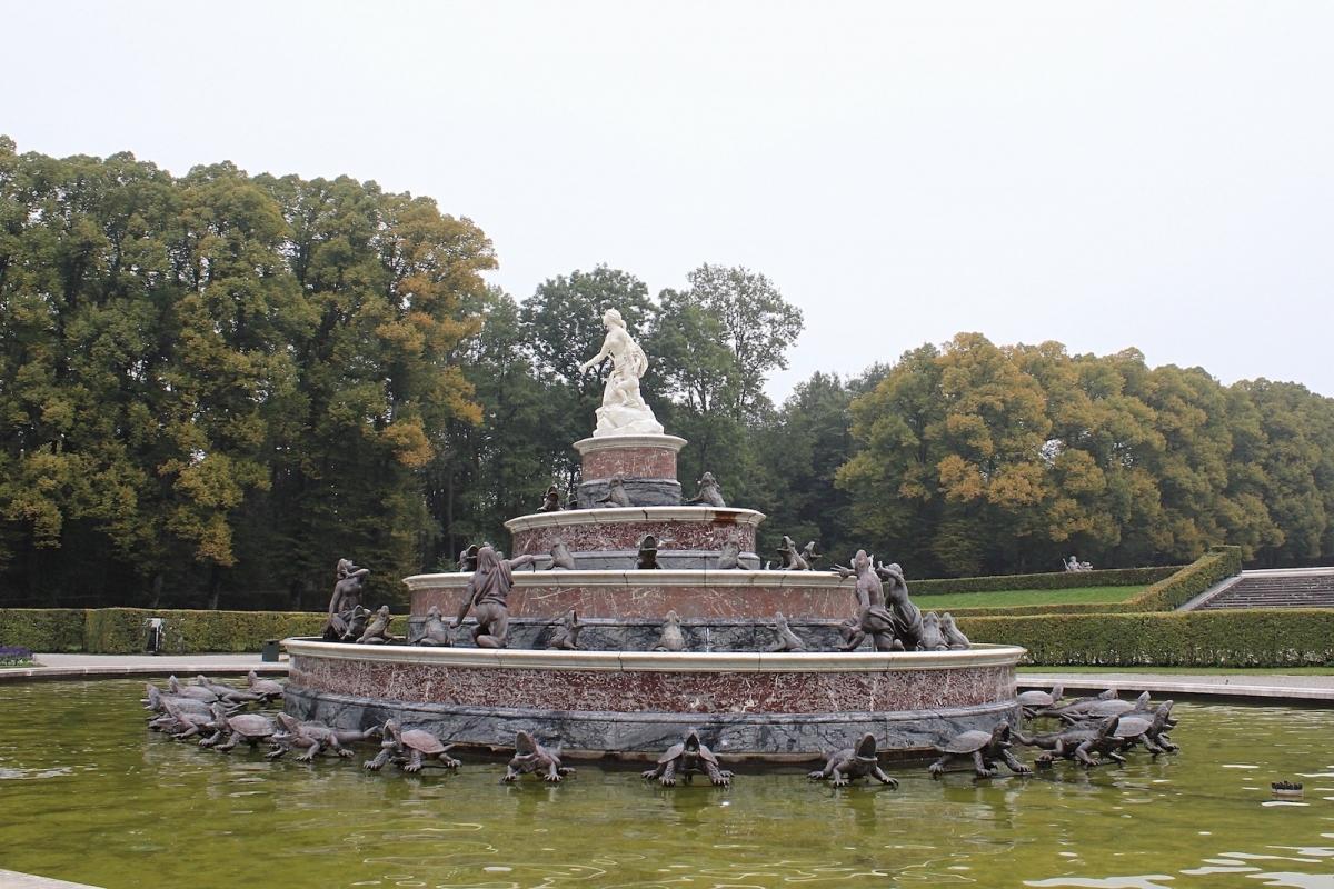 Дворец Херренкимзе. Фонтан Источник Латоны