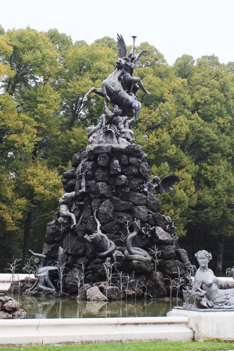 Дворец Херренкимзе. Фонтан Фамы
