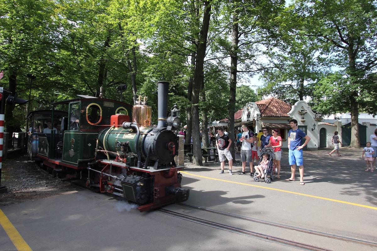 Прогулочный поезд в Эфтелинге