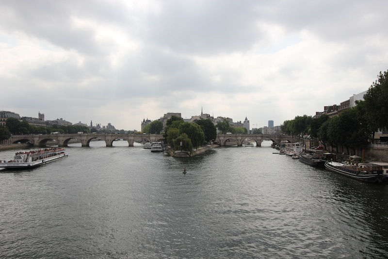 Остров Сите и Новый мост
