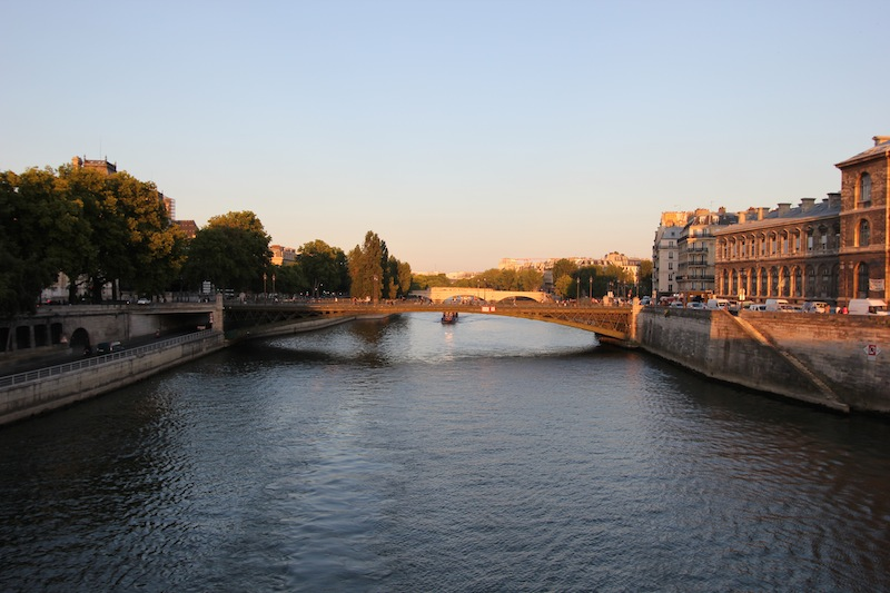 Аркольский мост на правый берег