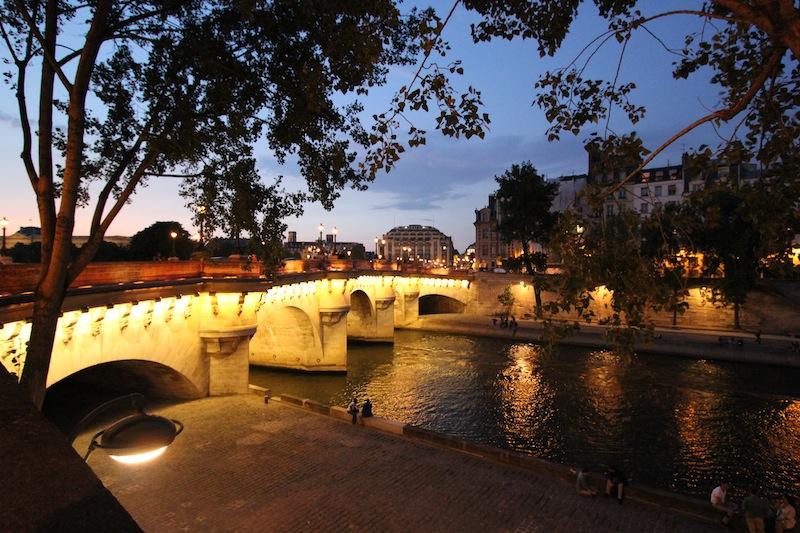 Левобережная часть Нового моста