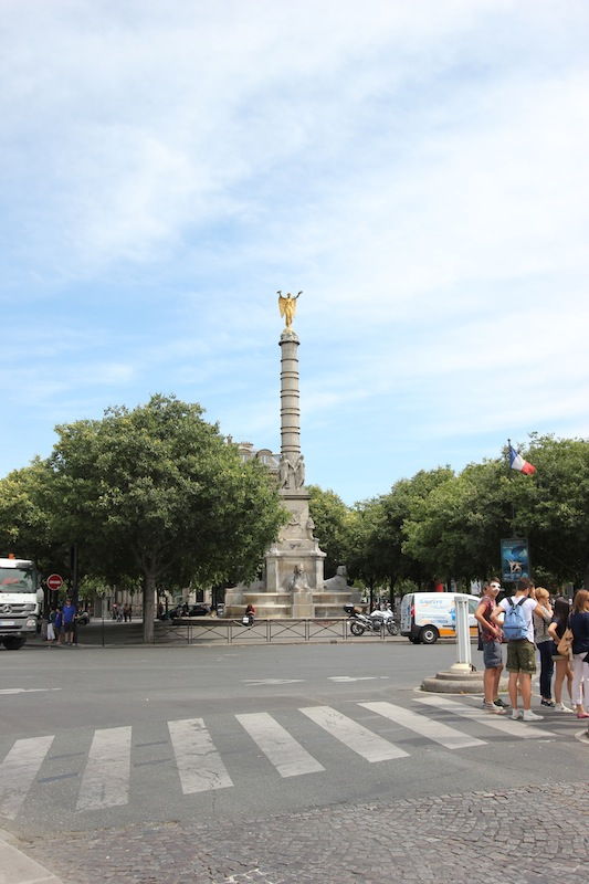 Фонтан Победы на площади Шатле