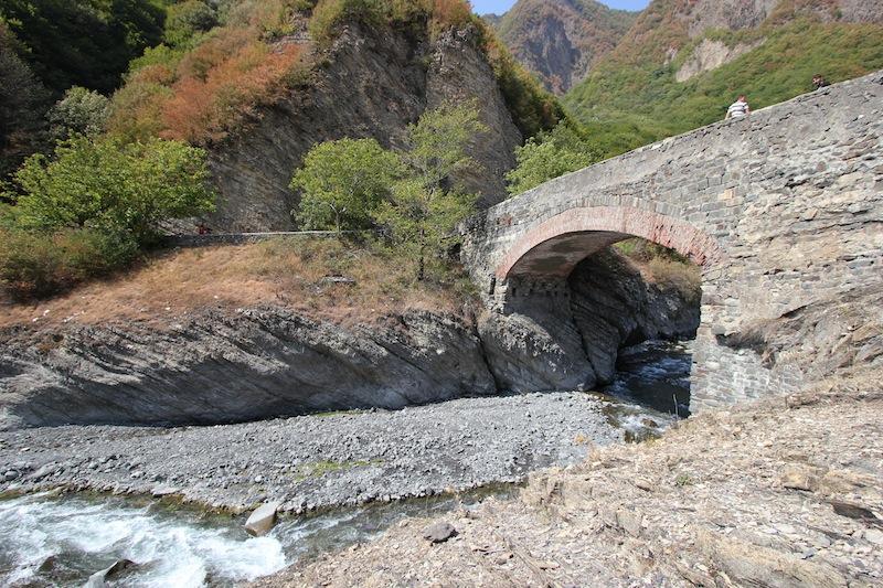 Мост Улу-корпю на реке Курмух