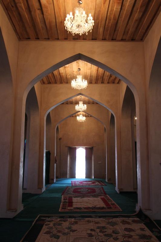 Интерьер мечети Улу-месджид