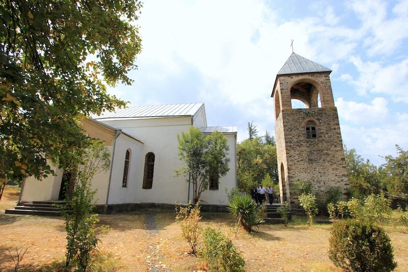 Церковь св. Георгия в селе Ках-Ингилой