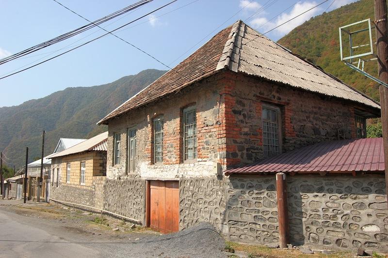В селе Илису