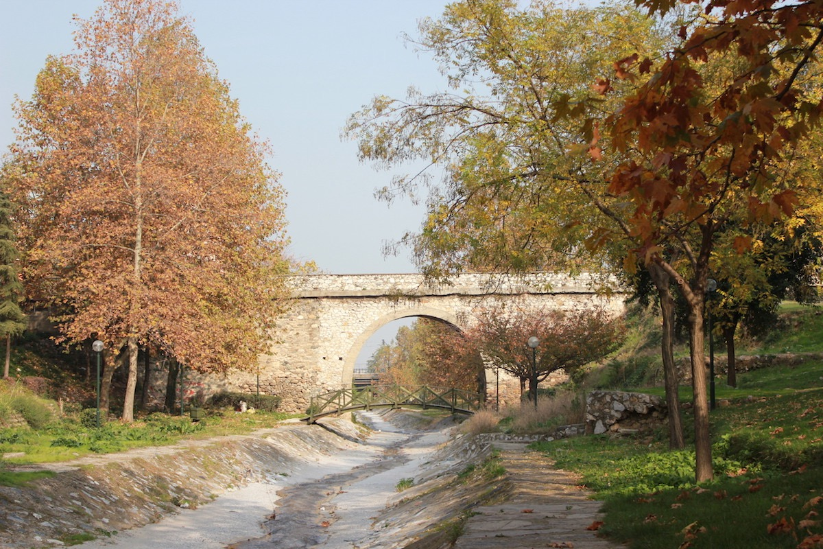 Мост Боячыкуллугу в декабре