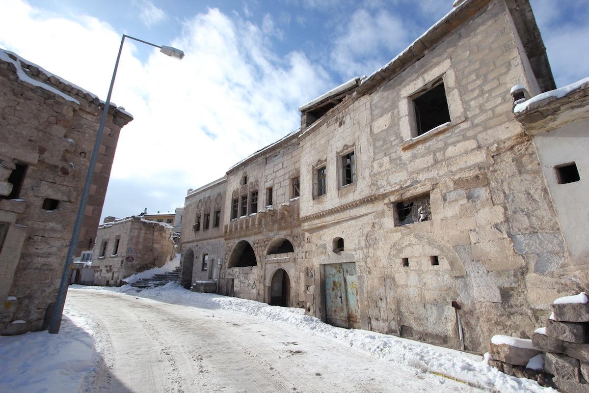 По дороге в отель Argos In Cappadocia
