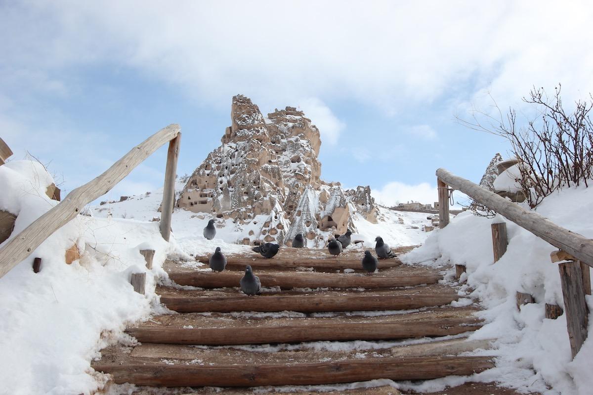 Смотровая площадка у северного подножия скалы
