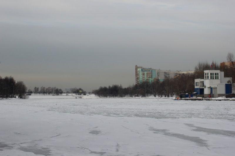 Люблинский пруд зимой