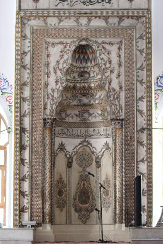 Михраб мечети Мурадие