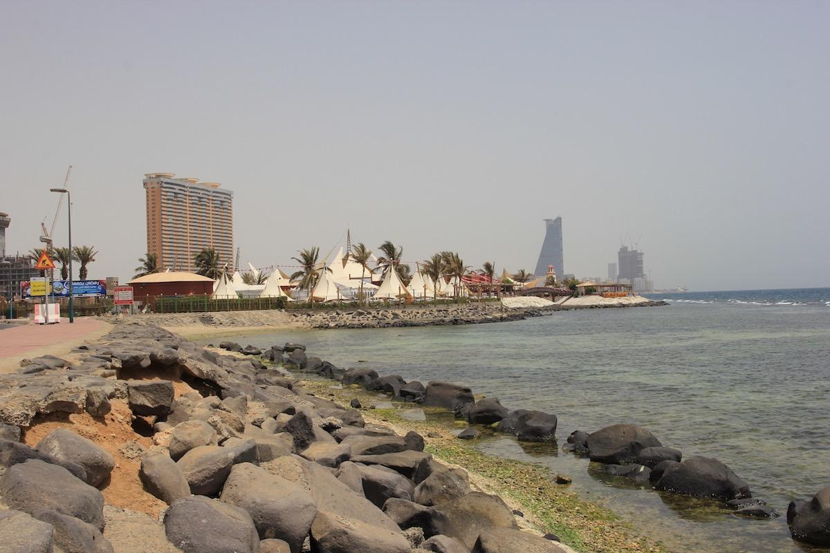 Побережье Красного моря в Джидде