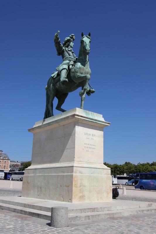 Конная статуя Людовика XIV