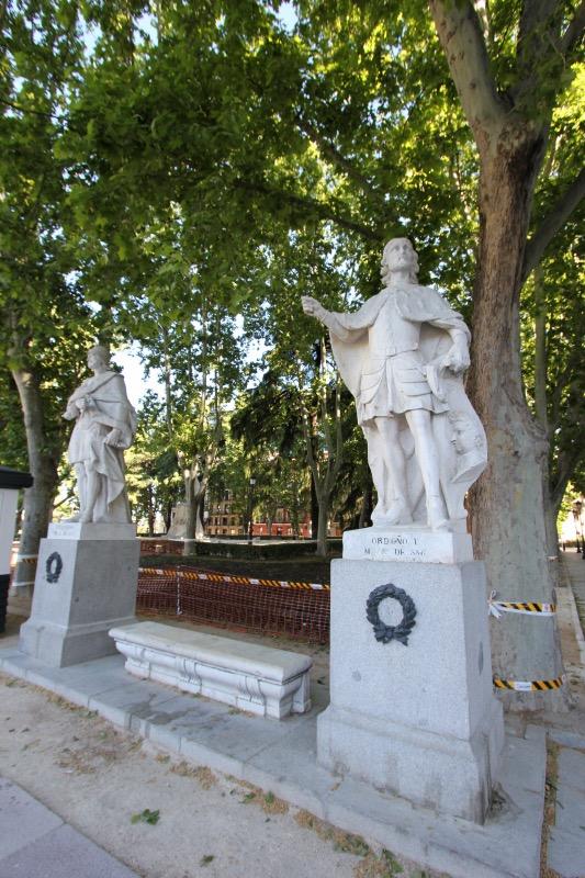 Испанские монархи на Восточной площади