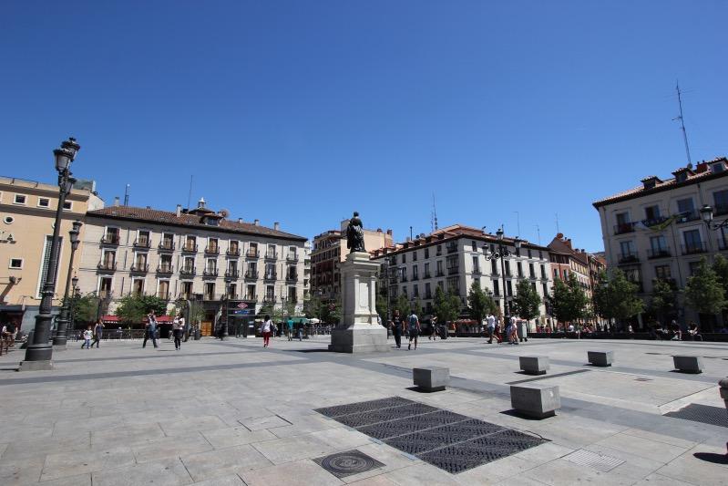 Площадь Изабеллы II в Мадриде