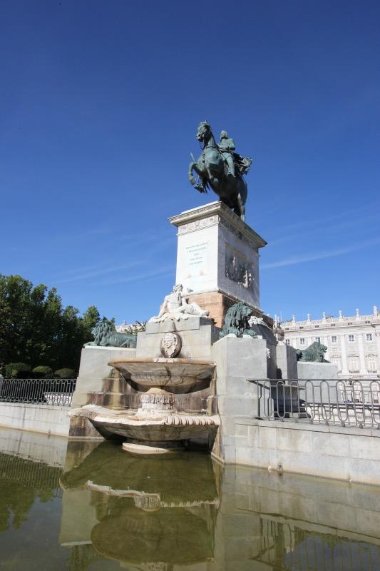Конная статуя Филиппа IV