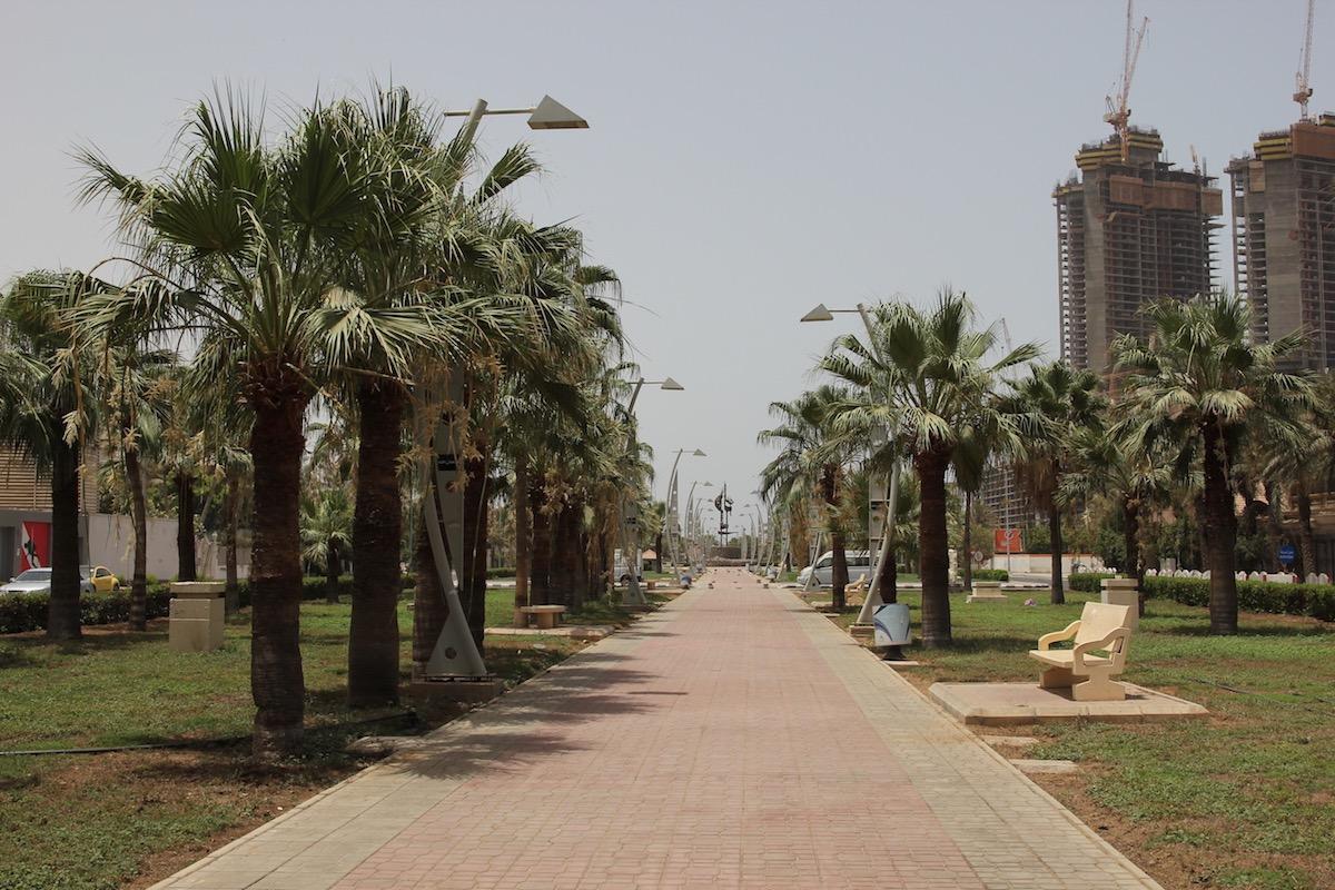 Парк на улице Принца Файсала ибн Фахда