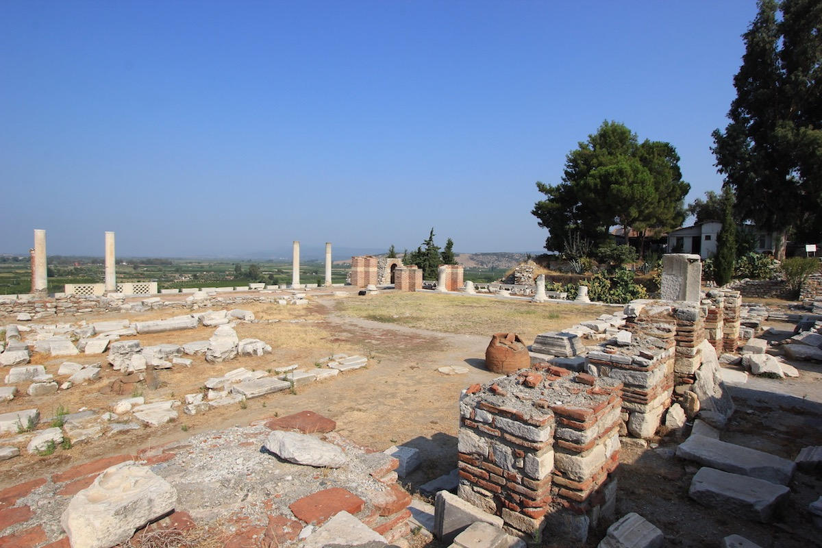 Атриум церкви Святого Иоанна
