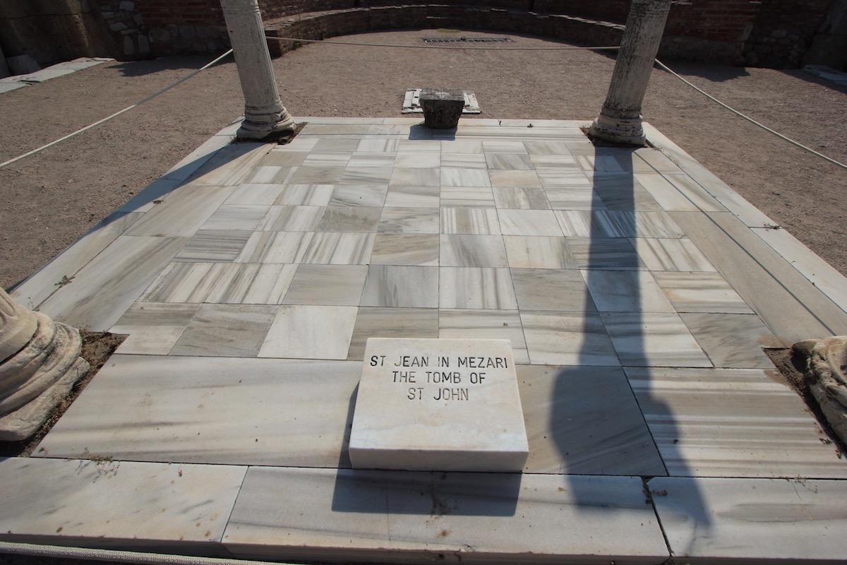 Могила Святого Иоанна Богослова