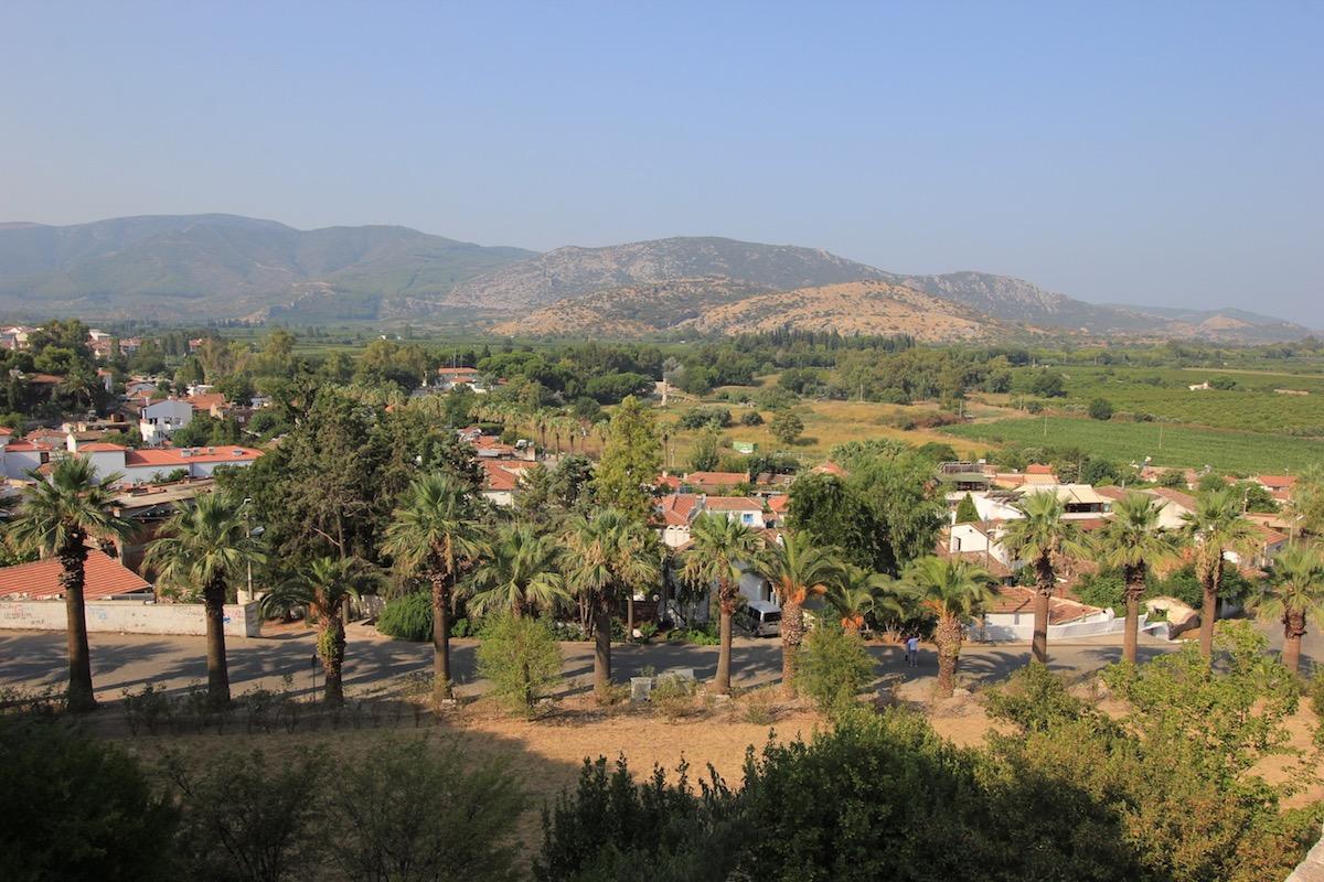 Вид на квартал Иса-бей в Сельчуке