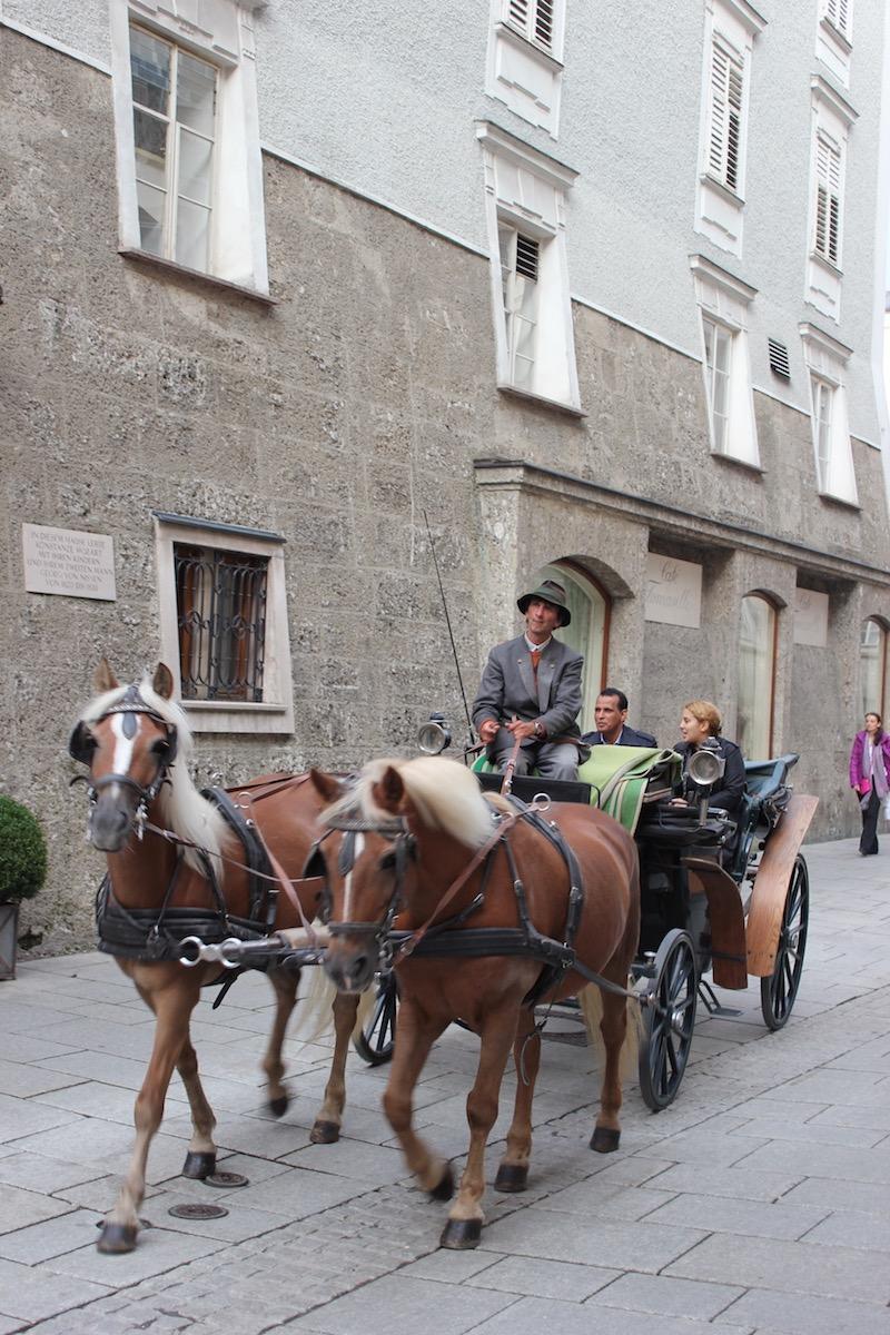 Прогулка в карете по Зальцбургу