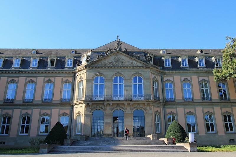 Новый дворец в Штутгарте (боковой фасад)