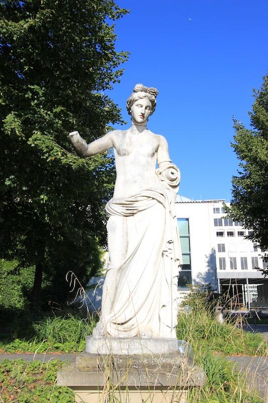 Статуя Венеры в Верхнем парке