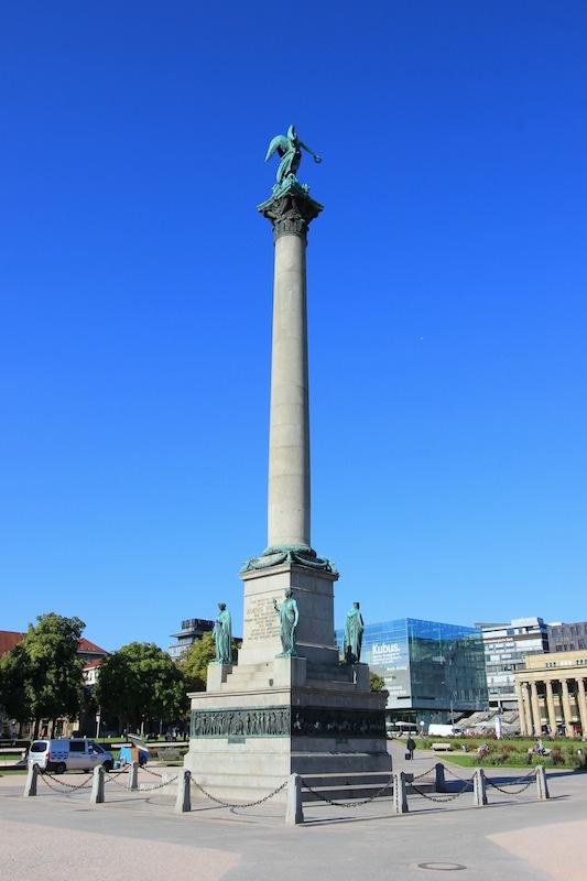 Юбилейная колонна на Дворцовой площади