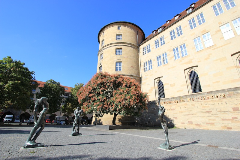 Перед Вюртембергским земельным музеем