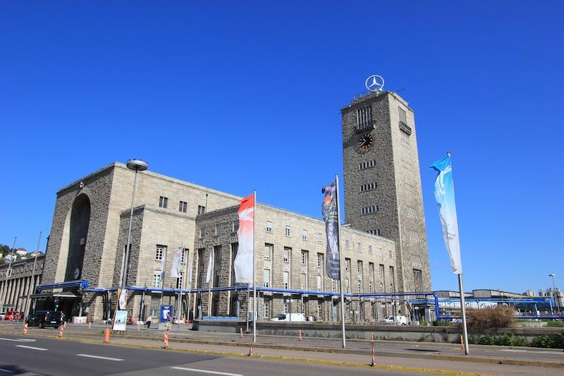 Здание Штутгартского вокзала