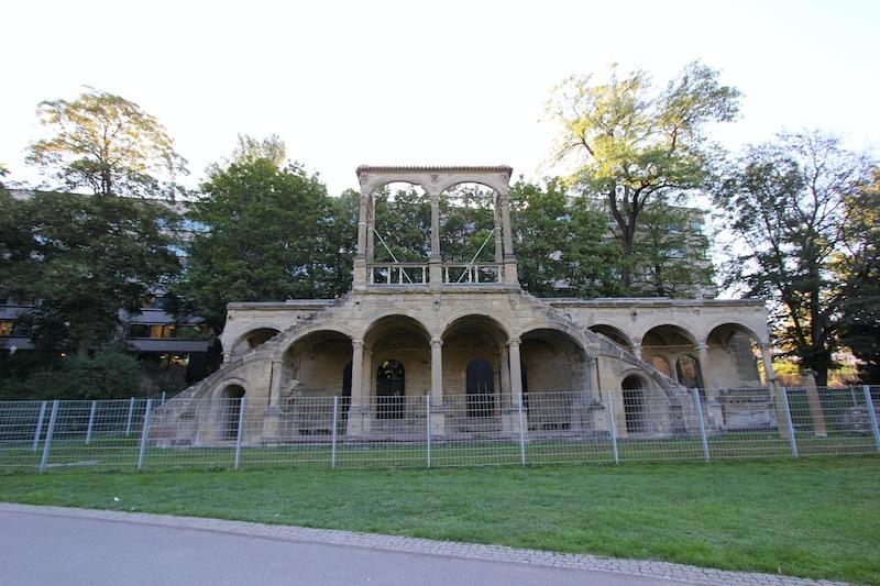 Руины Нового павильона - Neuen Lusthaus