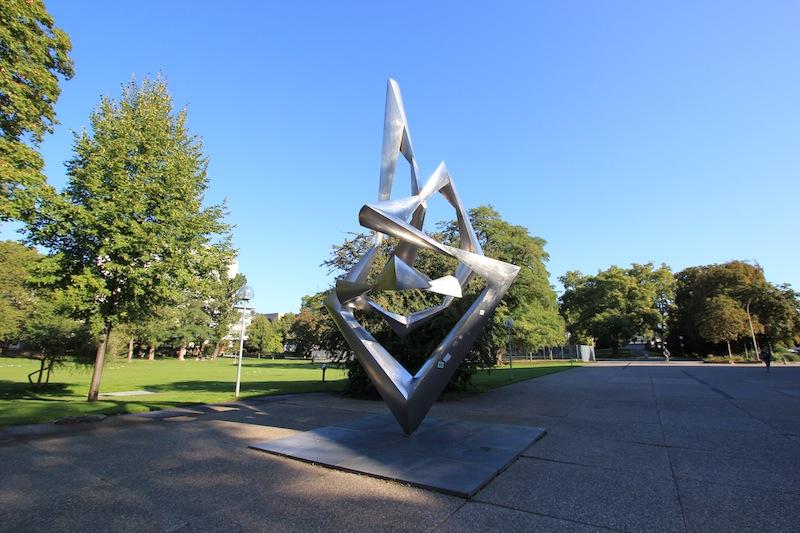 Скульптура в Среднем парке
