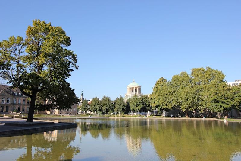 Озеро Эккен в Верхнем парке