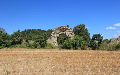 Руины крепости Бигалы