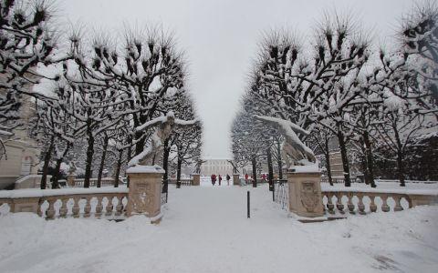 Зимняя прогулка вдоль Зальцаха
